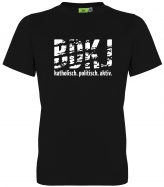 BDKJ UNISEX T-Shirt schwarz