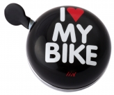 Liix Ding Dong Bell I Love My Bike black