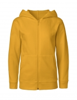Neutral® Hoodie Zipped Kinder