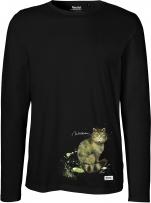Langarm Shirt Männer - (Wildkatze)