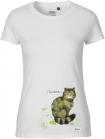 T-Shirt Frauen - (Wildkatze)