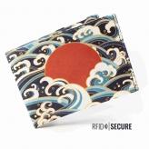 Portmonnaie secure red sun