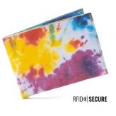 Portmonnaie secure Tie-Dye