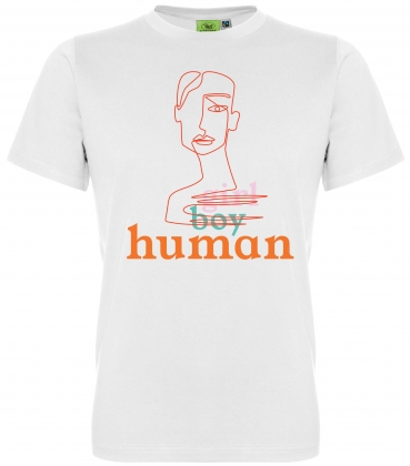 """Human"" Unisex-T-Shirt Fairtrade x Fashion Changers"