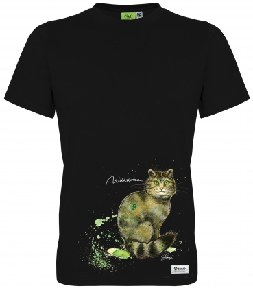 T-Shirt Unisex Jacob (Wildkatze)