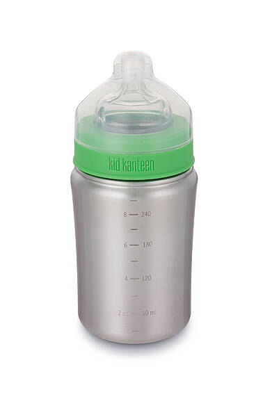 266ml/9oz Kid Kanteen Baby Bottle (mittlerer Trinkfluss)-BS
