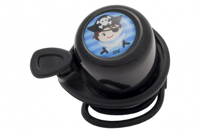 Liix Scooter Bell Pirate Black