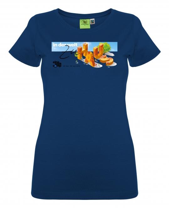 Eine Welt Camp - T-Shirt Frauen (Kim)