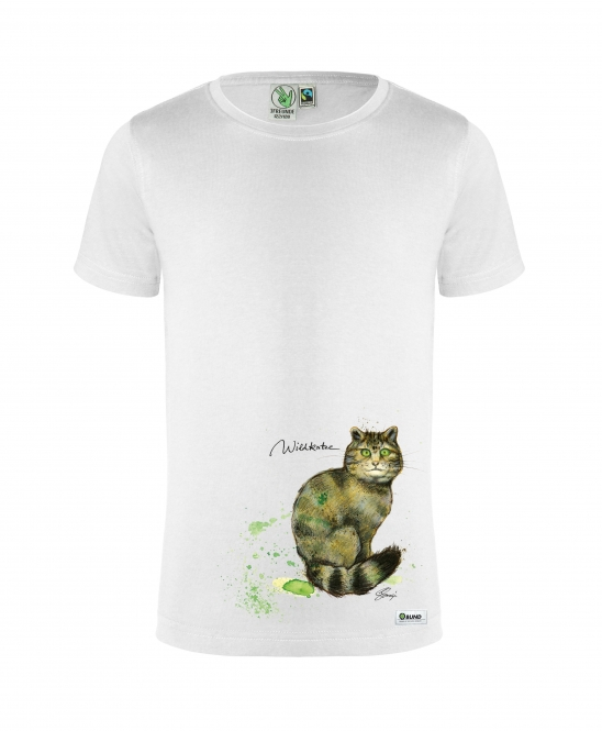 T-Shirt Kinder (Wildkatze)