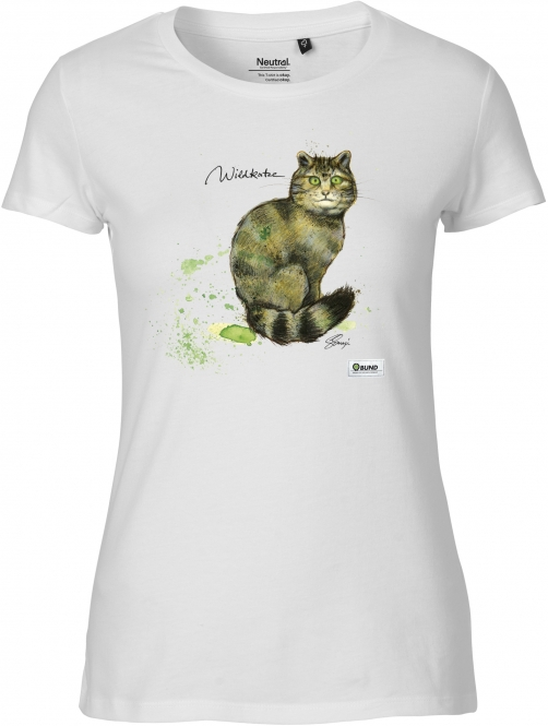 T-Shirt Frauen - Version 2 (Wildkatze)