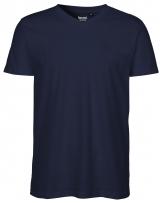 < neutral > T-Shirt V-Ausschnitt Männer